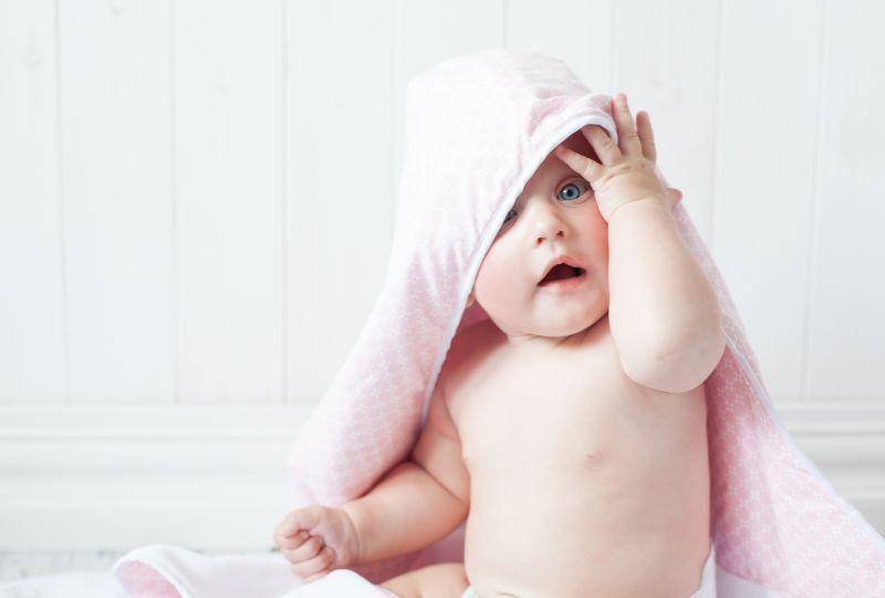 Bábätko v uteráku